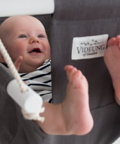 Grey baby swing Oden from Videung of Sweden