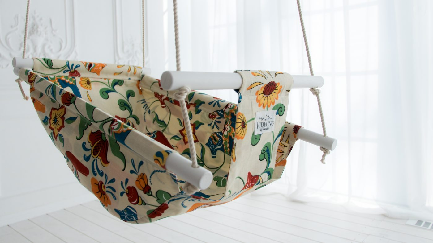 Baby swing from Videung of Sweden